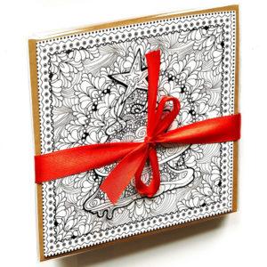 kerst-inkleur-kaarten-kopen-om-in-te-kleuren-met-wijsheden-vierkant