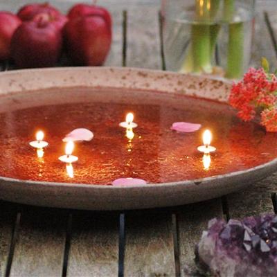 Boeddha lichtjes bestellen: drijvende kaarslontjes voor in water | inspirerendwinkelen.nl