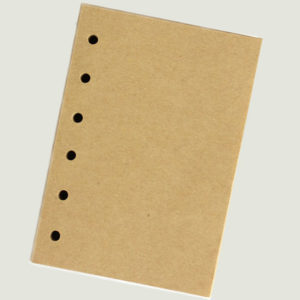 Navullingen Blanco voor A6 notitieboekje Ingspire op www.inspirerendwinkelen.nl
