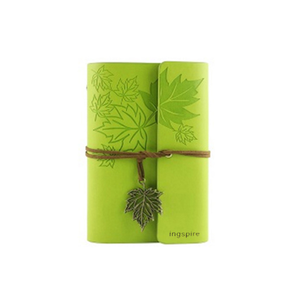 Geef een bijzonder notieboekje cadeau (groen) - inspirerendwinkelen.nl