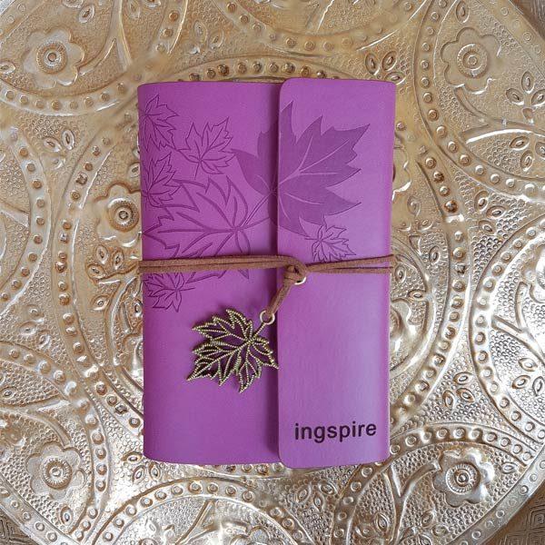 Koop dit prachtige notitieboekje als cadeau voor jezelf of een ander op inspirerendwinkelen.nl
