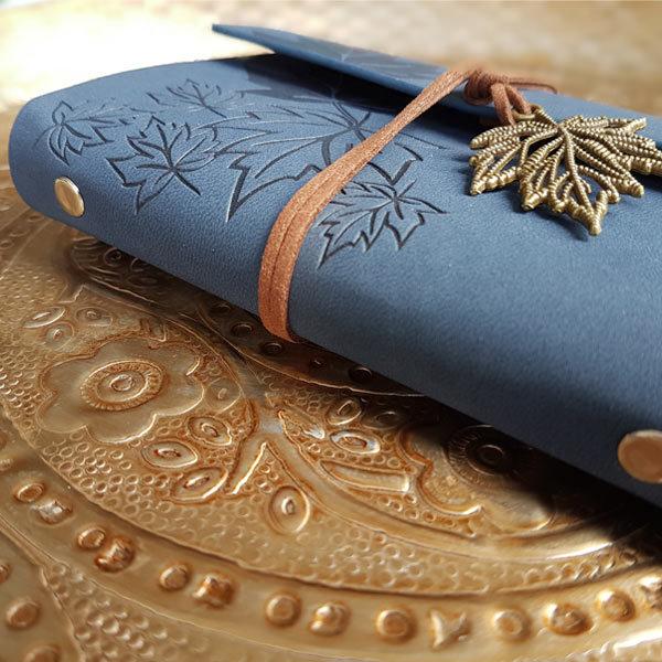 Koop dit prachtige notitieboekje in de kleur BLAUW van ingspire als cadeau voor jezelf of een ander op inspirerendwinkelen.nl