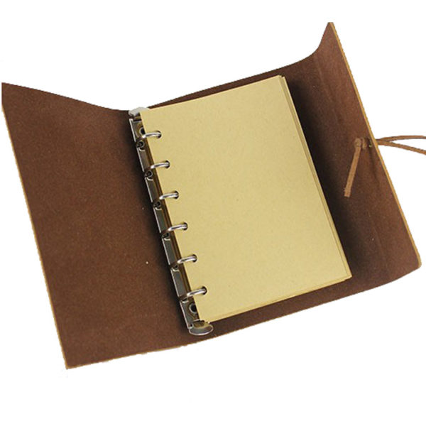 Prachtig notitieboekje met ringband cadeau geven - bestel op inspirerendwinkelen.nl