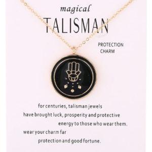 Ketting Hamsa Hand Goud kopen - voor geluk en bescherming in moeilijke tijden zoals de coronatijd