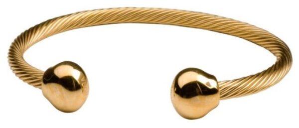 energie armband met magneet cadeau therapie pijn kado sieraad gouden armband kopen