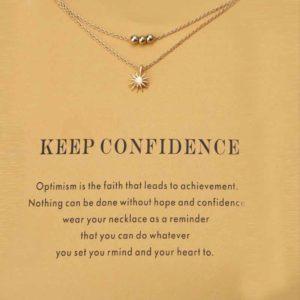 Cadeau voor Vertrouwen Veerkracht en Moed - de Warrior ketting