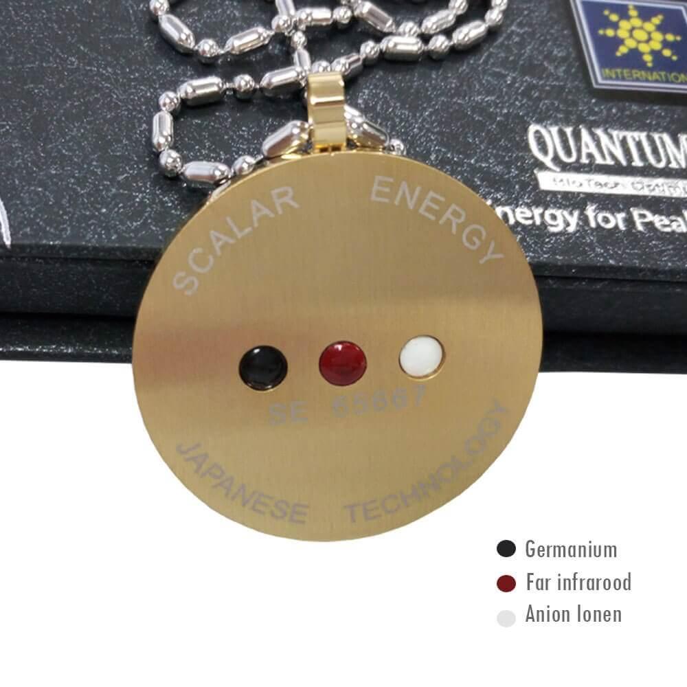Energie Quantum Ketting Goud