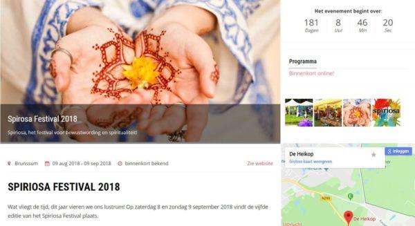 promoot jouw evenement, activiteit of praktijk op ingspire.nl