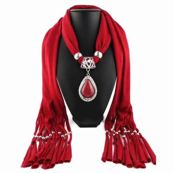 Goedkope rode sjaaltjes kopen op inspirerendwinkelen
