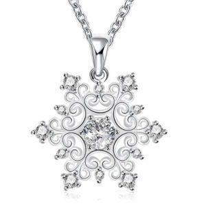 Zilveren Ster ketting - prachtig sieraad als cadeautje voor de Kerst Feestdagen