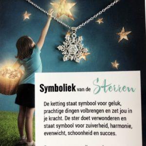 Klein symbolisch cadeau succes wensen motivatie ketting - inspirerendwinkelen.nl