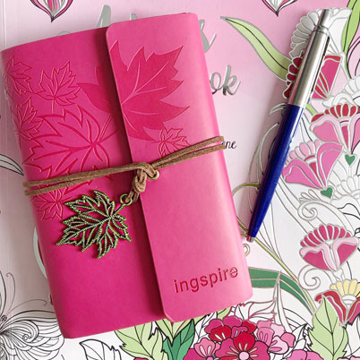 Bijzonder roze Notitie boekje cadeau geven - inspirerendwinkelen