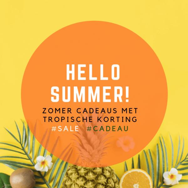 Symbolische cadeaus met speciale betekenis - tropische zomer korting op inspirerendwinkelen.nl