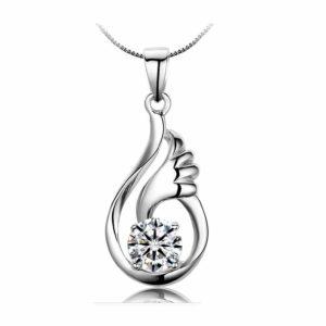 Lichtpuntje cadeau geven met deze symbolische ketting voor kracht, sterkte, overlijden, moeilijke tijden, liefde en hoop