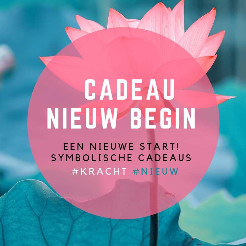 Cadeau afscheid nieuw begin - bestel op inspirerendwinkelen.nl