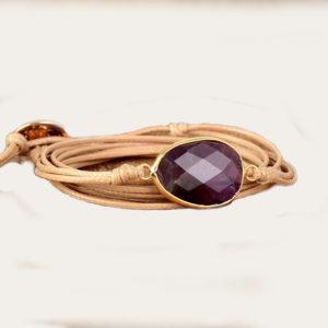 Yoga wikkel armband voor meditatie en rust - cadeau met betekenis