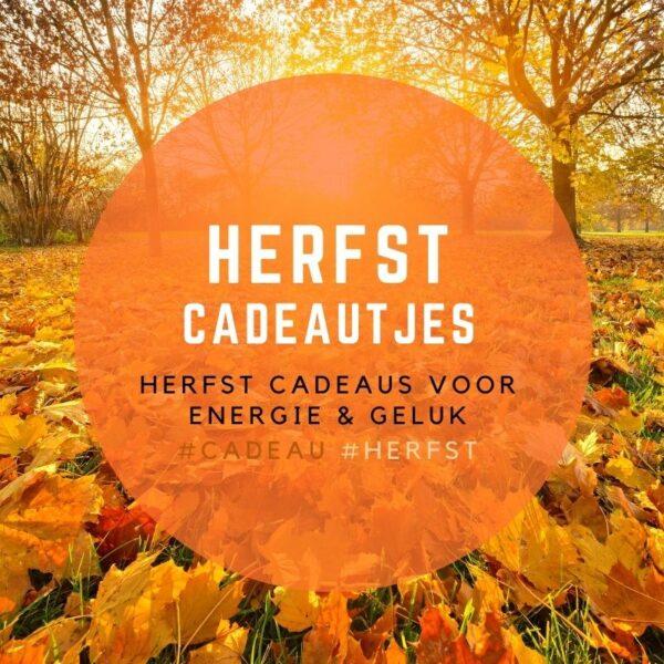 herfst cadeautjes met symboliek voor geluk en energie